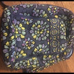 Vera Bradley laptop bookbag